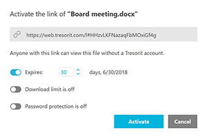 Send secure attachments with Tresorit Outlook – Tresorit Knowledge Base